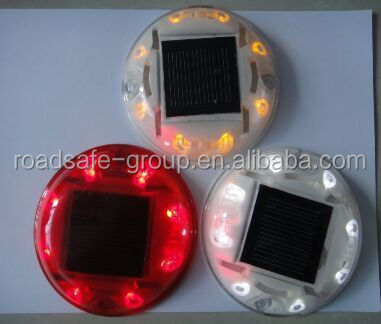high strong reflective led  solar plastic road stud