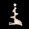 Hot sale white Wooden Christmas tree decoration