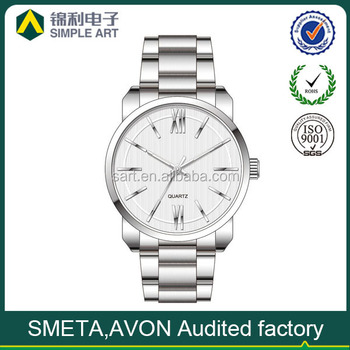Hot sale fashion high quality stainless steel men watch