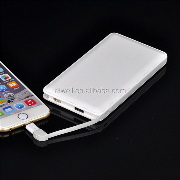High Quality Mobile Power 8000mAh Lithium Battery Charger Cell Phone Power Bank