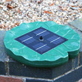 Solar Water Fountain Pump For Garden Pond Floating Lily Pad