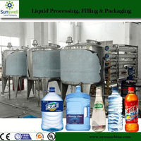 Medium Scale PET Water Bottling Plant