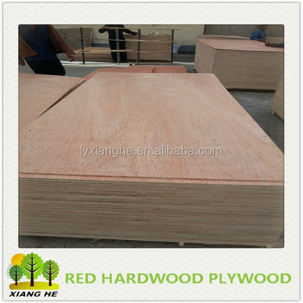 Red Hardwood Plywood Pallet for Packing Used