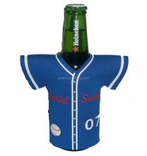Custom neoprene Jersey can cooler beer bottle cooler wrap