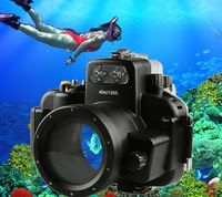 40M 130ft Waterproof Underwater Housing Hard Case for Nikon D7000 DSLR Camera