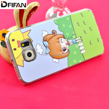 2017 Design Fashion TPU Colorful Creative Cute Cartoon Printing Cases for Samsung Galaxy s6 Edge