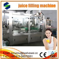 Mango Juice Filling Equipment In Best Service From Zhangjiagang automatic 3 in1 juce filling machine