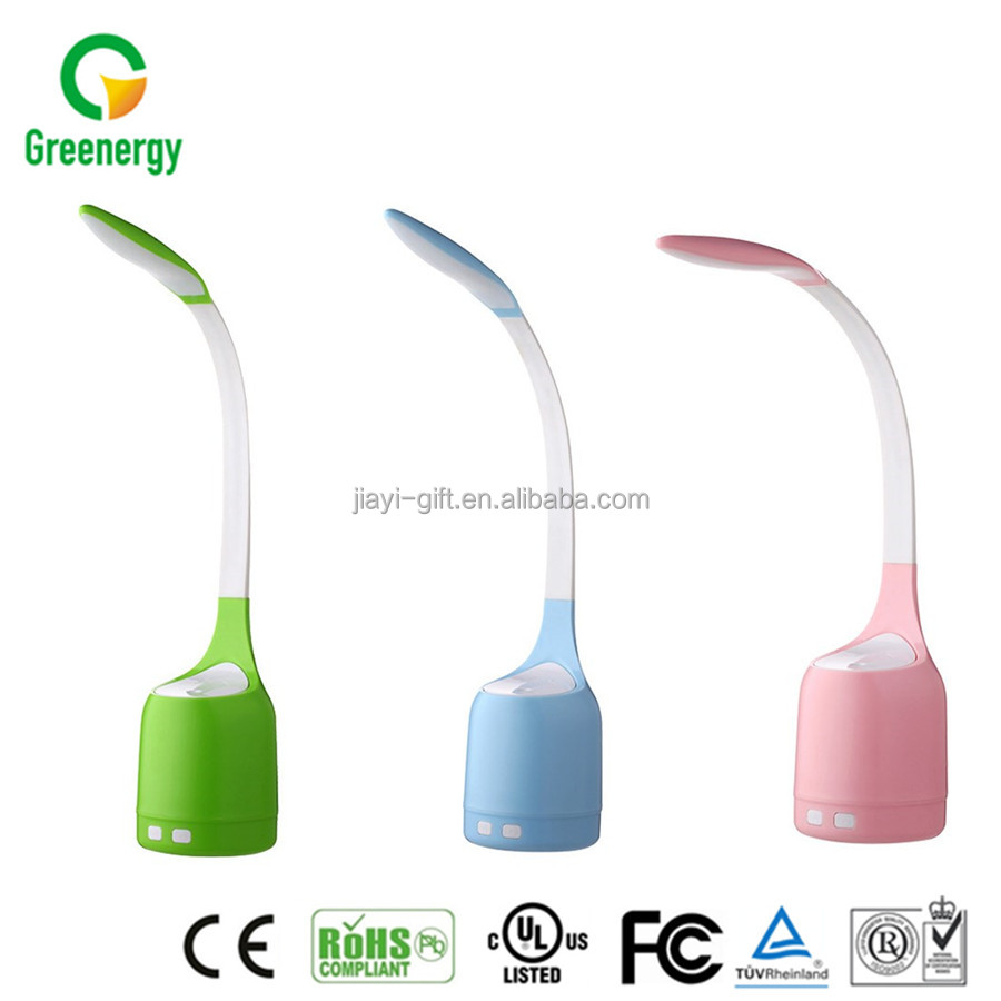 Table Lamp Colorful Aromatherapy Timing Mini Humidifier Dimmable LED Desk Lamp