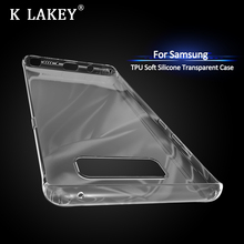 For Samsung Galaxy Note 8 Case Transparent Slim Soft Silicone TPU Skin For Galaxy S8 Plus Airbag Phone Protective Cover