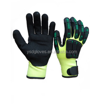 13Knit HPPE liner anti-impact cut resistant glove working gloves