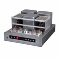 YAQIN MS-30L EL34 Integrated push pull Vacuum Tube Amplifier HIFI Amplifier with Headphone Output Remote Control