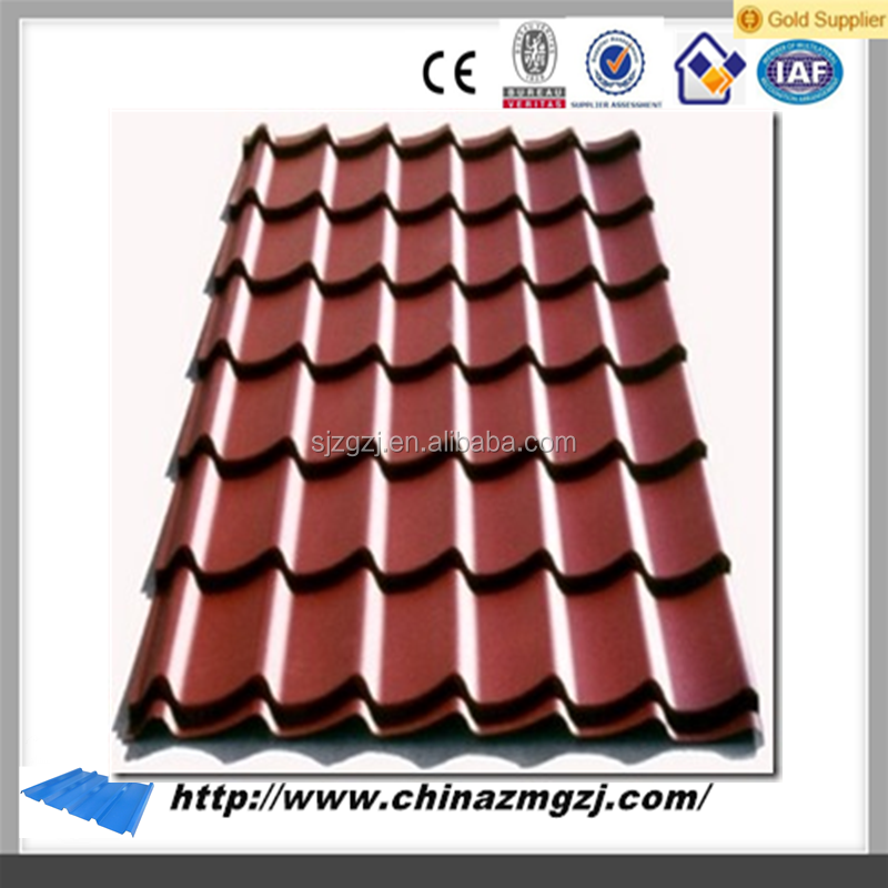 red rolled metal roofing sizes printed metal roll roofing