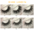 Wholesale Mink Eyelash Vendors 100% Handmade Mink Lashes Private Label Mink Eyelashes With Eyelash Packaging