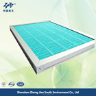 Home use humidifier air conditioner filter with aluminium frame