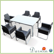 Outdoor Rattan Furniture Table and Chair Dining Set Cheap Outdoor Plastic Pictures Of Dining Table Chair