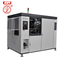 Logo printed machinery bottle injection blow moulding semi auto plastic molding machine