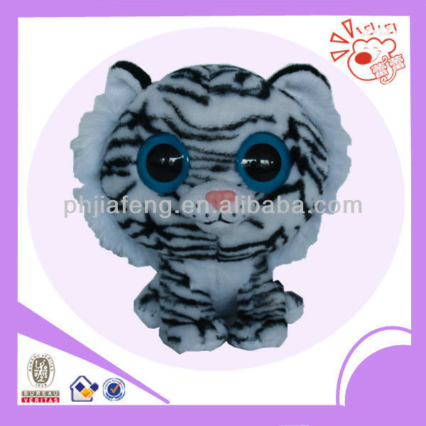 Plush big head tiger,plush small body tiger toys
