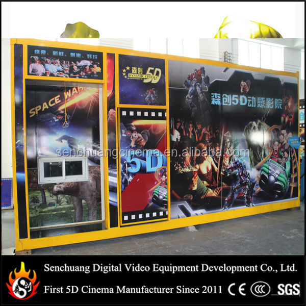 Mini 5d motion cinema for great outdoor playground