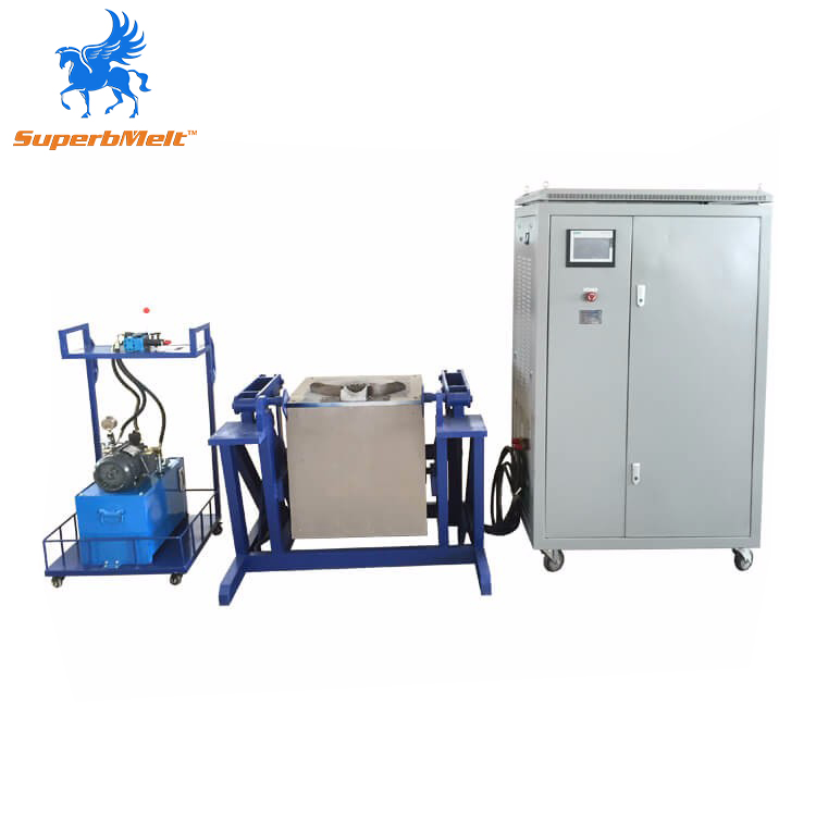 Factory Price Electric Industrial Induction Metal Melting Furnace