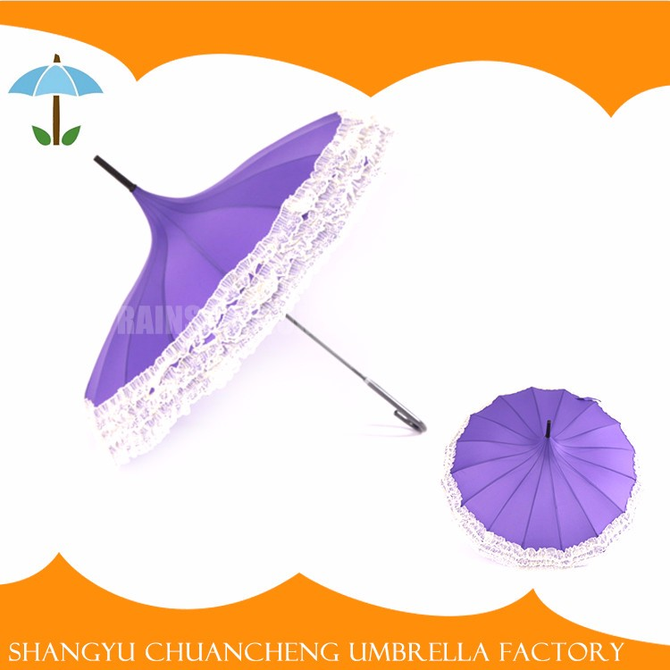 Unique Rain lace parasol umbrella