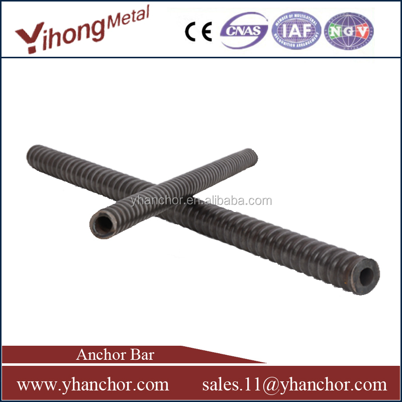 YH T40 self drilling Hollow rock roof anchor bolt