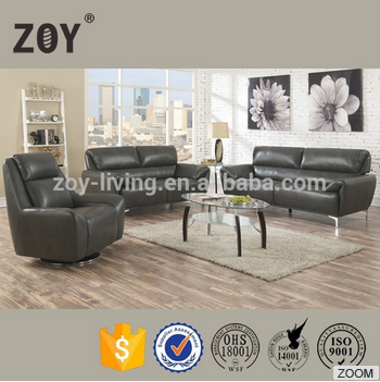 Creative design and cheap leather air living room sectional sofa 2+3 seat sofa set ZOY-S9921A