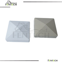 pvc fence post cap