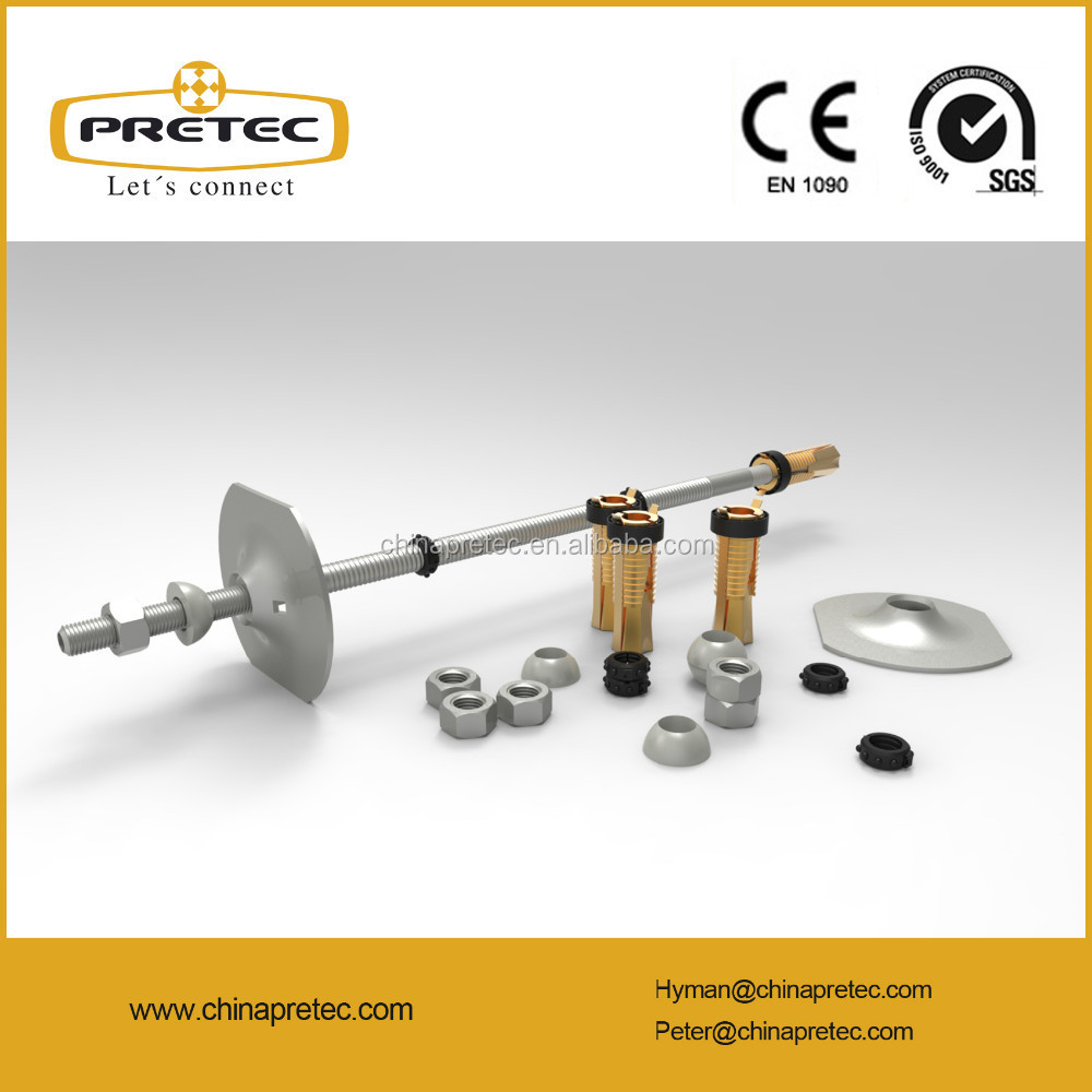 ChinaPretec Pc-Bolt stainless steel rock anchor for underground construction