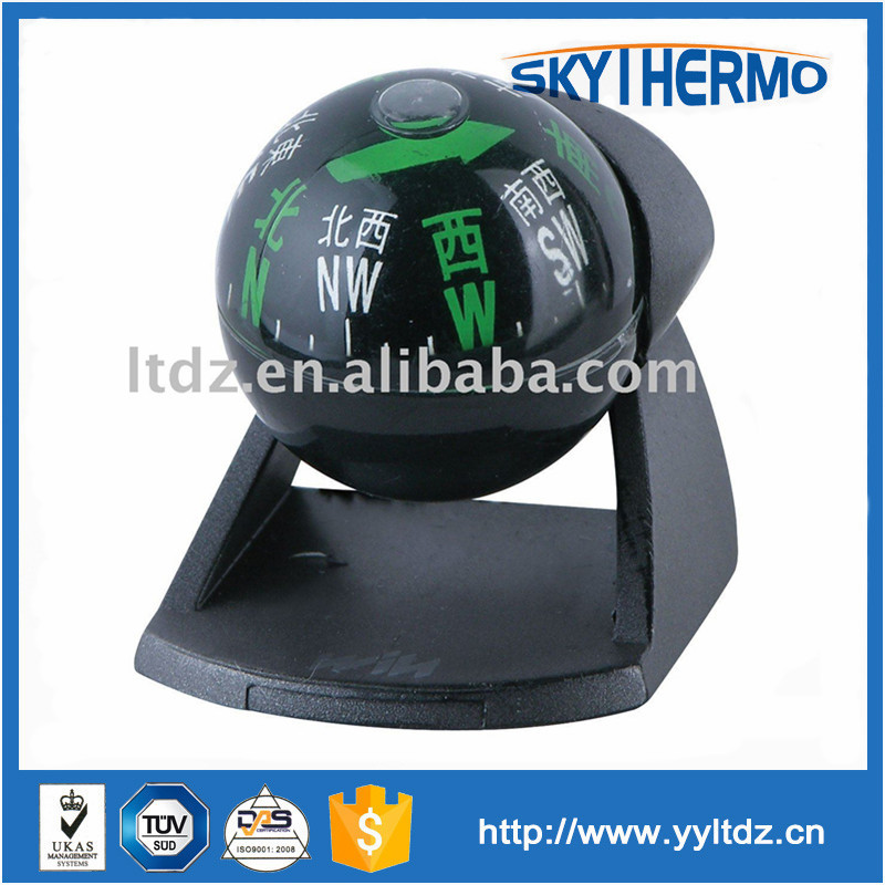 Eco-Friendly adjustable angle pastic altimeter compass for car compass