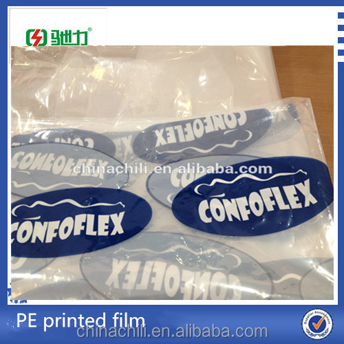 Top sale PE plasitc film with printed