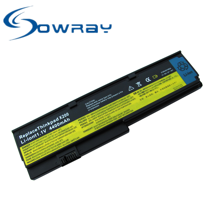 Laptop battery for IBM Lenovo Thinkpad T60 T61 X61 Z60 R60 R61 X200 X300