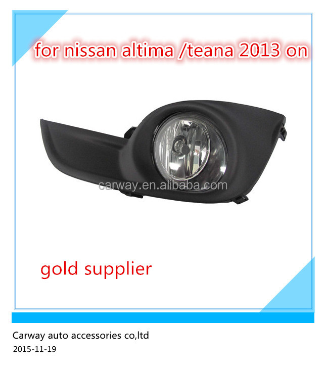 Fog lamp for Nissan Altima Teana 2013 ON top quality auto parts