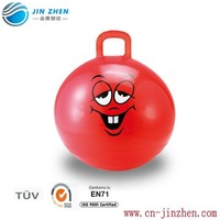 inflatable space hopper pvc ball
