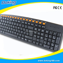 Wholesale mini multimedia slim keyboard