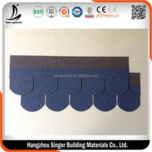 5 types asphalt roofing tiles/laminated roofing asphalt shingles/3-tab fiberglass asphalt shingles