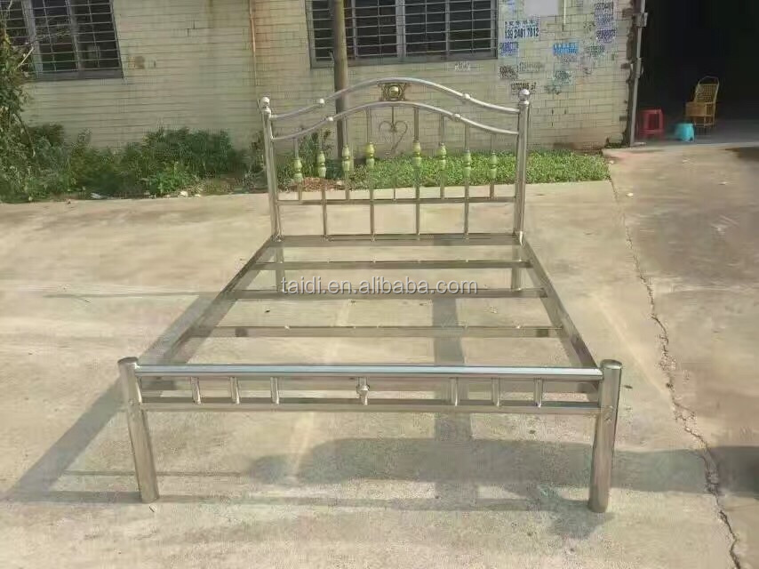Household Stainless Steel Bed