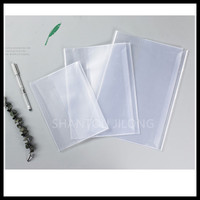 NEW PRODUCTS! Transparent PP Adhesive Hard Plastic Book Cover for School Books