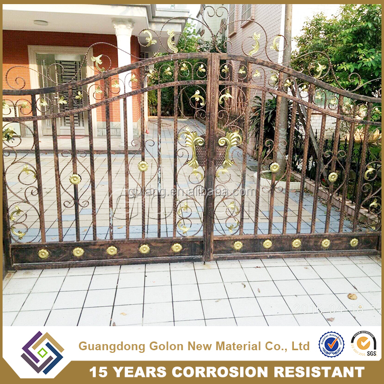 latest indian house main gate designs, new design wrought iron gate for house