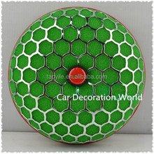 Wholesale 80MM Universal Car Round Green Air Filter Intake With Sponge