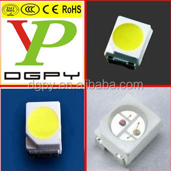 High quality taiwan epistar chip bicolour 3528 smd diodes yellow green