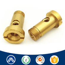 CNC swiss machining brass slot threaded adjustment screw for sale