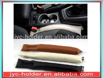 H0T050	a pair car seat gap fillers luxury spacer stop holster padding for leather auto pad black