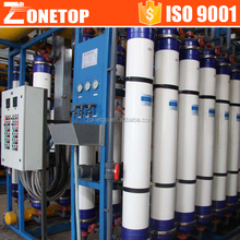 Hollow fiber UF ceramic membrane ultrafiltration system mineral water filter