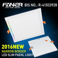 led panel 12W circle/square light for house use