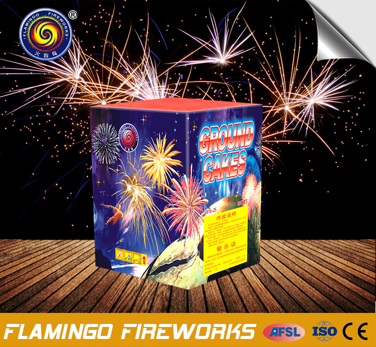 Specializing in the production 36S Ground Cakes new product 2017 cake fireworks wholesale