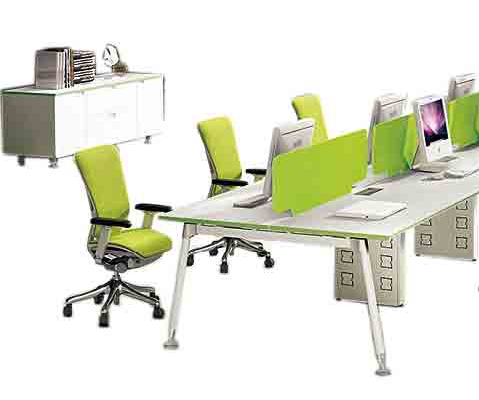 Personalized top grade product office workstation for 8 person