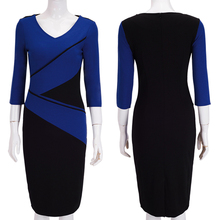 Fashionable OEM Casual Adults Stitching Designs Sexy Tight Women Autumn Dress