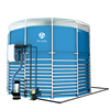 15m3 Portable Assembly Biogas Plant For