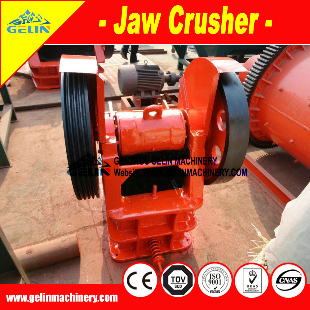 Small jaw crusher, crushing machine for small scale