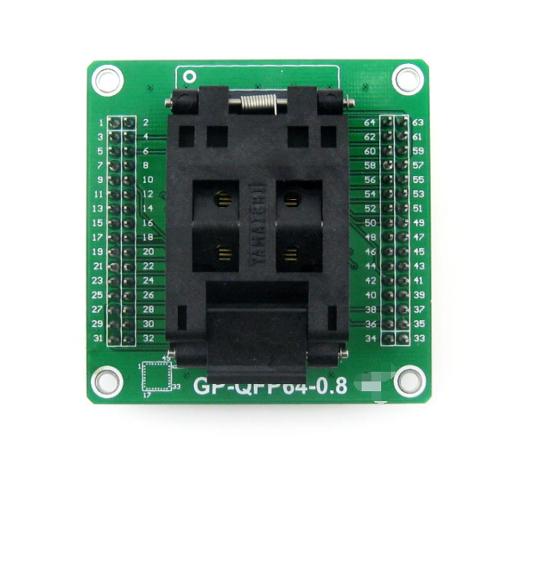 GP-QFP64-0.8 IC Test Socket and Programming Adapter for QFP64 PQFP64 TQFP64 LQFP64 package